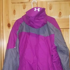 Under Armour Jackets & Coats - Men's Under Armour Coat size XL loose Purple NWT